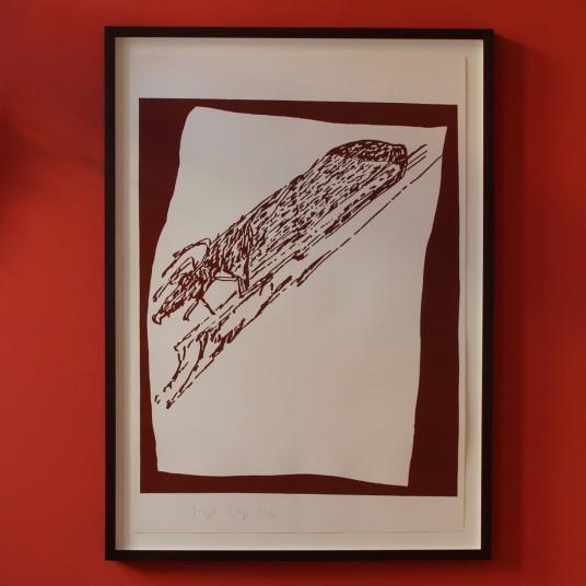 Siebdruck von Joseph Beuys