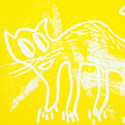 André Butzer, Katze /gelb