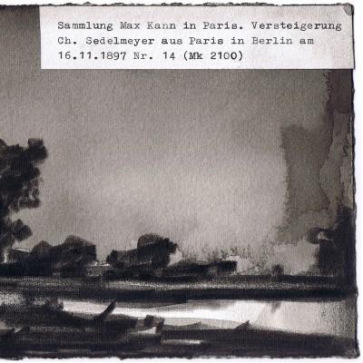 Marcel van Eeden, Short Stories, Carte Blanche-Sammlung Max Kann in Paris
