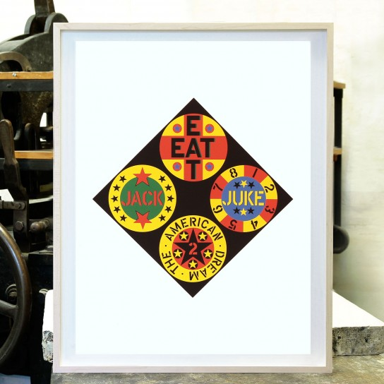 Robert Indiana, Black Diamond Am. Dream 2
